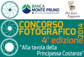 """4a edizione del Concorso Fotografico """"alla Tavola della Principessa Costanza"""""""